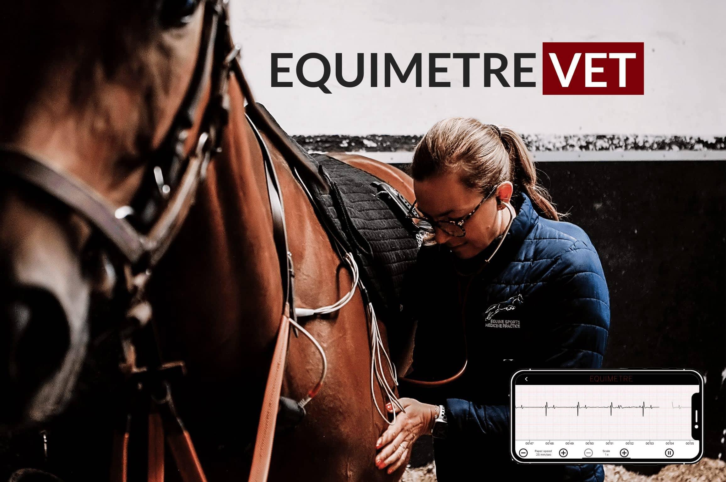 equimetre vet pour les chevaux athlètes
