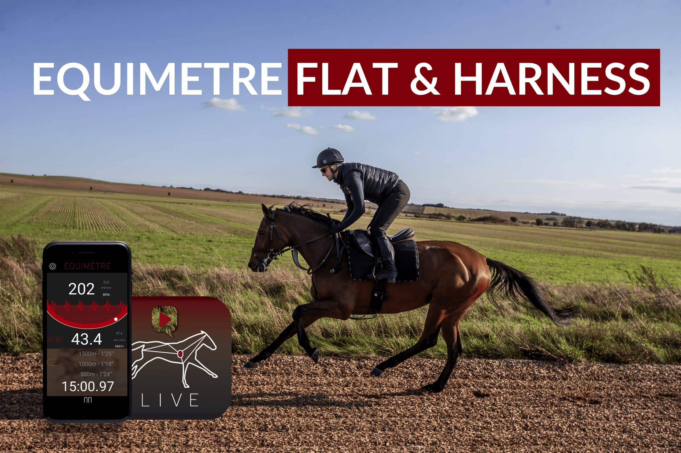 equimetre flat & harness for racehorses