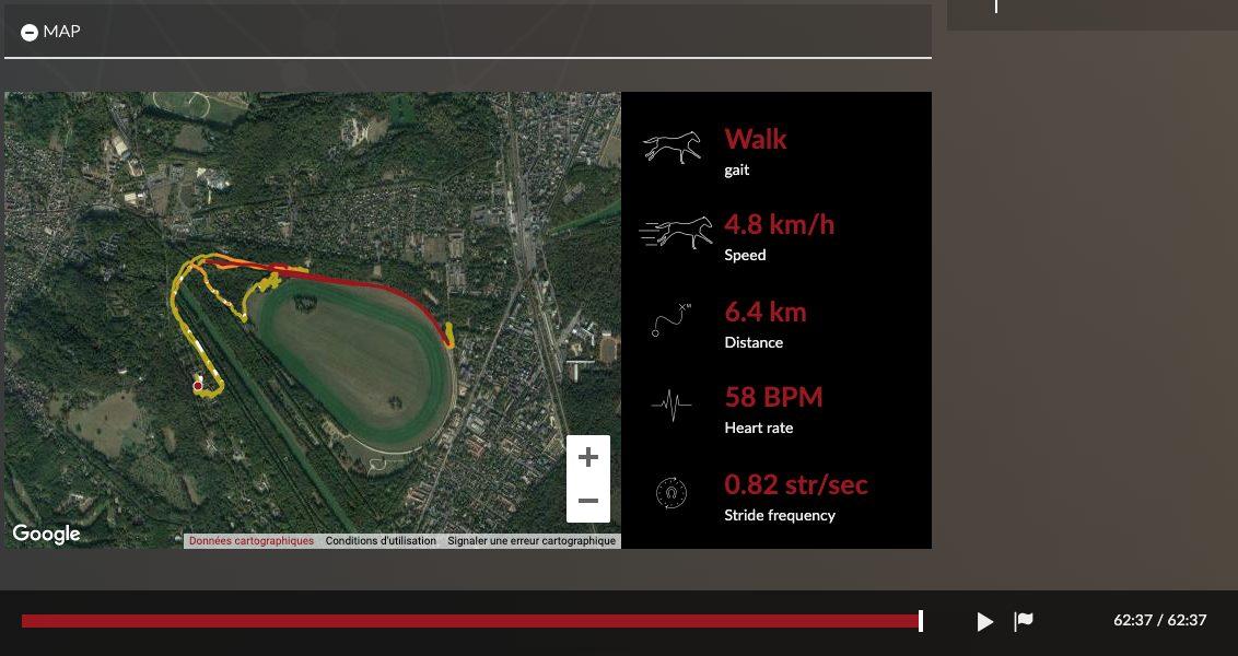 training map equimetre