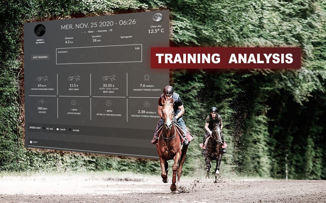 relire un entraînement avec equimetre